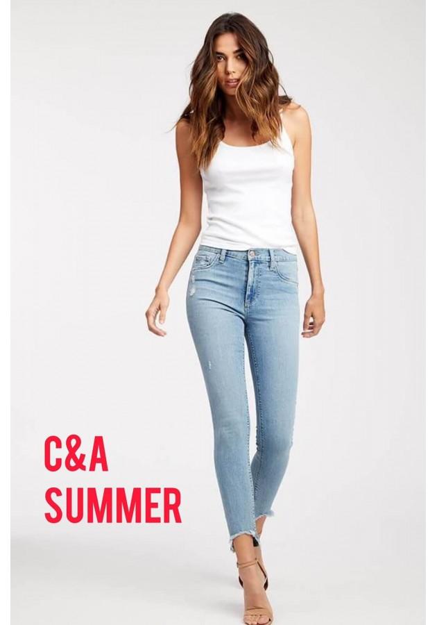 Сток одежда С&A весна-лето оптом